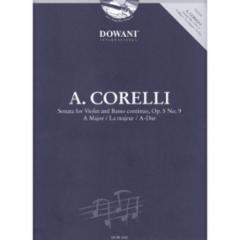 Sonata in A Major for Violin and Basso continuo, Op. 5, No. 9