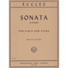Sonata in G Minor for Viola and Piano