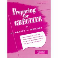 Preparing for Kreutzer for Violin