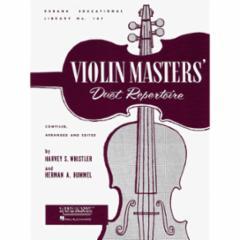 Violin Masters' Duet Repertoire