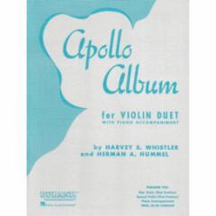 Apollo Album for Violin Duet with Piano Accompaniment