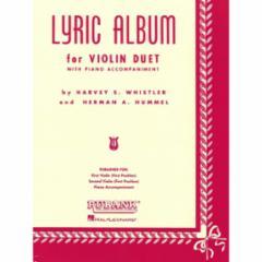 Lyric Album Violin Duet with Piano Accompaniment