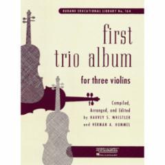 First Trio Album for Violin