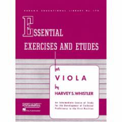 Essential Exercises and Etudes for Viola