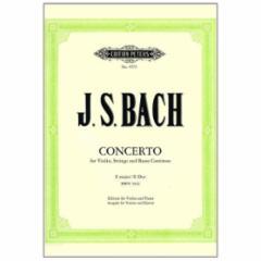 Concerto in E Major, BWV 1042 for Violin and Piano