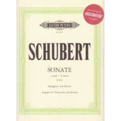 Sonata in A Minor, D 821 for Cello and Piano