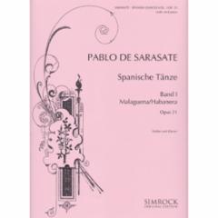 Spanish Dances, Op. 21, Book 1 (Violin and Piano)