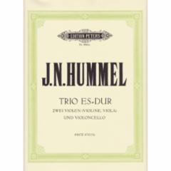 Trio in Eb Major for Violin, Viola and Cello
