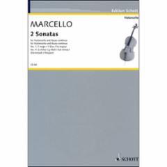 Two Sonatas for Cello and Basso continuo