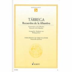 Recuerdos de la Alhambra for Cello and Piano