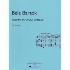 Roumanian Folk Dances for Violin and Piano