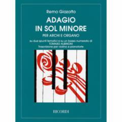 Adagio in G Minor for Violin and Piano