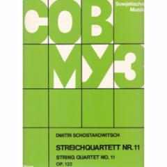 String Quartet No.11, Op.122
