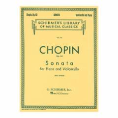 Sonata in G Minor, Op. 65 for Cello