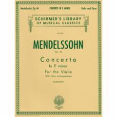 Concerto in E Minor, Op. 64 for Violin
