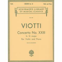 Concerto No. 23 in G Major for Violin and Piano
