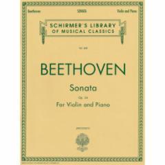 Sonata in F Major, Op. 24 for Violin and Piano