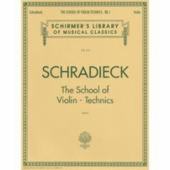 School of Violin Technics,Op.1
