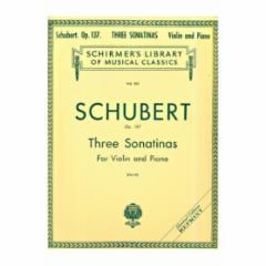 Three Sonatinas, Op.137 for Violin and Piano