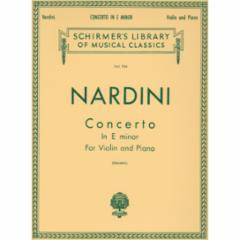 Concerto in E Minor for Violin and Piano