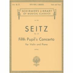 Pupil's Concerto No.5 in D Major, Op.22 (Violin)