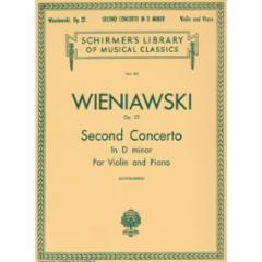 Concerto No.2 in D Minor, Op.22 (Violin)