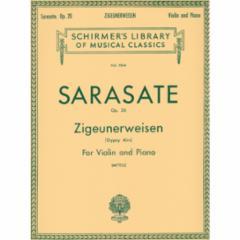 Zigeunerweisen, Op. 20 for Violin and Piano