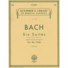 Six (Cello) Suites (Arranged for Solo Viola)