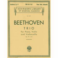 Trio in B-flat Major, Op. 97 for Violin, Cello and Piano