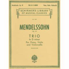 Trio in D Minor, Op. 49 for Violin, Cello and Piano