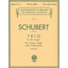 Trio in B-flat , Op. 99 for Piano Trio