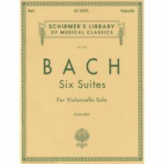 Six (Cello) Suites for Violoncello Solo: (Gaillard Edition)