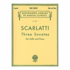 Three Sonatas for Cello and Piano