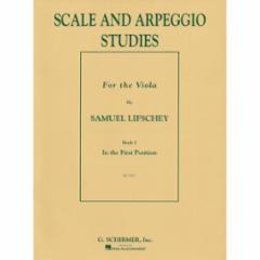 Scale and Arpeggio Studies for Viola