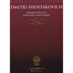Sonata, Op. 147 for Viola and Piano