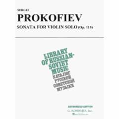 Sonata, Op. 115 for Violin