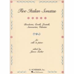 Five Italian Sonatas for Cello and Piano