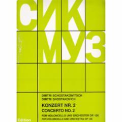 Concerto, Op. 126, No. 2 for Cello and Piano