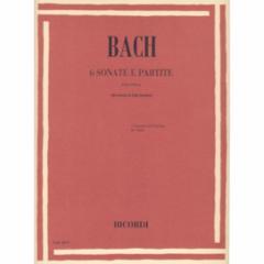 Six (Violin) Sonatas and Partitas (Arranged for Viola)