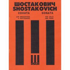 Sonata, Op. 40 for Cello and Piano