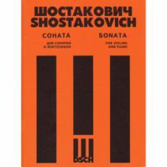 Sonata, Op. 134 for Violin and Piano