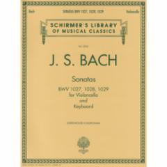 Sonatas BWV 1027, 1028, 1029 for Cello and Piano