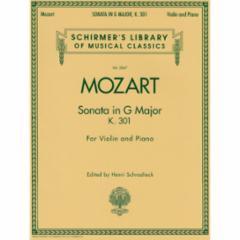 Sonata in G Major K. 301 for Violin