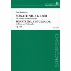 Sonata No. 3 in G Major, Op. 238 for Cello and Piano