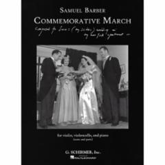 Commemorative March for Violin, Cello, and Piano