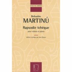 Rapsodie Tcheque for Violin and Piano
