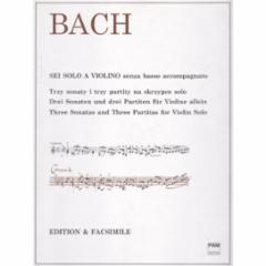 Three Sonatas and Three Partitas for Violin
