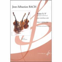 Suites I a V (originally for Cello) Volume 1: Suites I-II-III BWV 1007-1008-1009