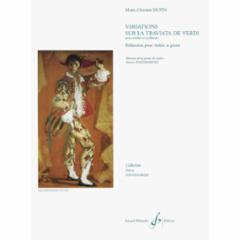 Variations sur La Traviata de Verdi for Violin