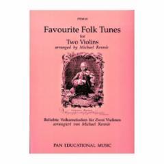 Favorite Folk Tunes for Two Violins